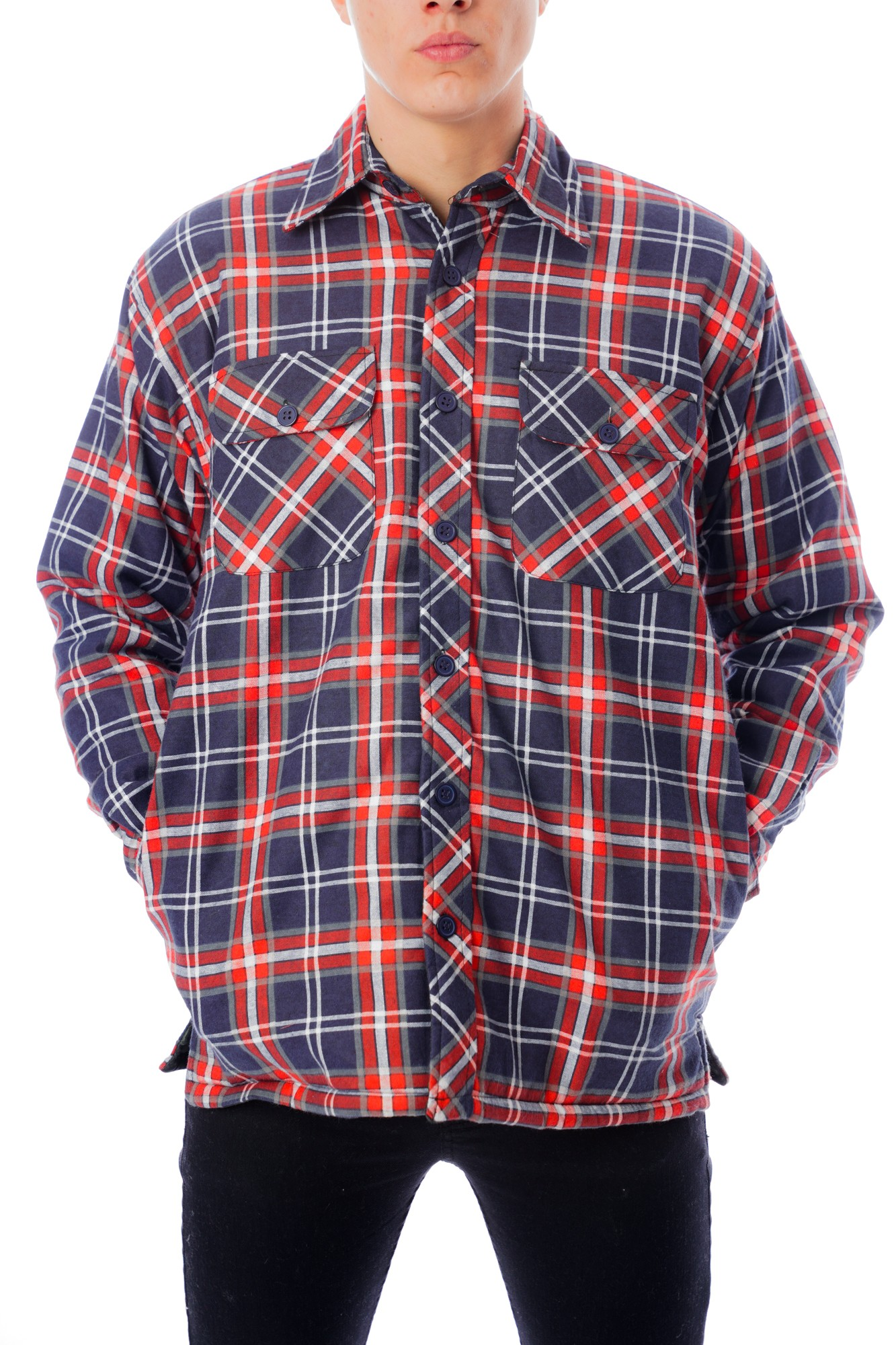 Lined Padded Lumberjack Shirt