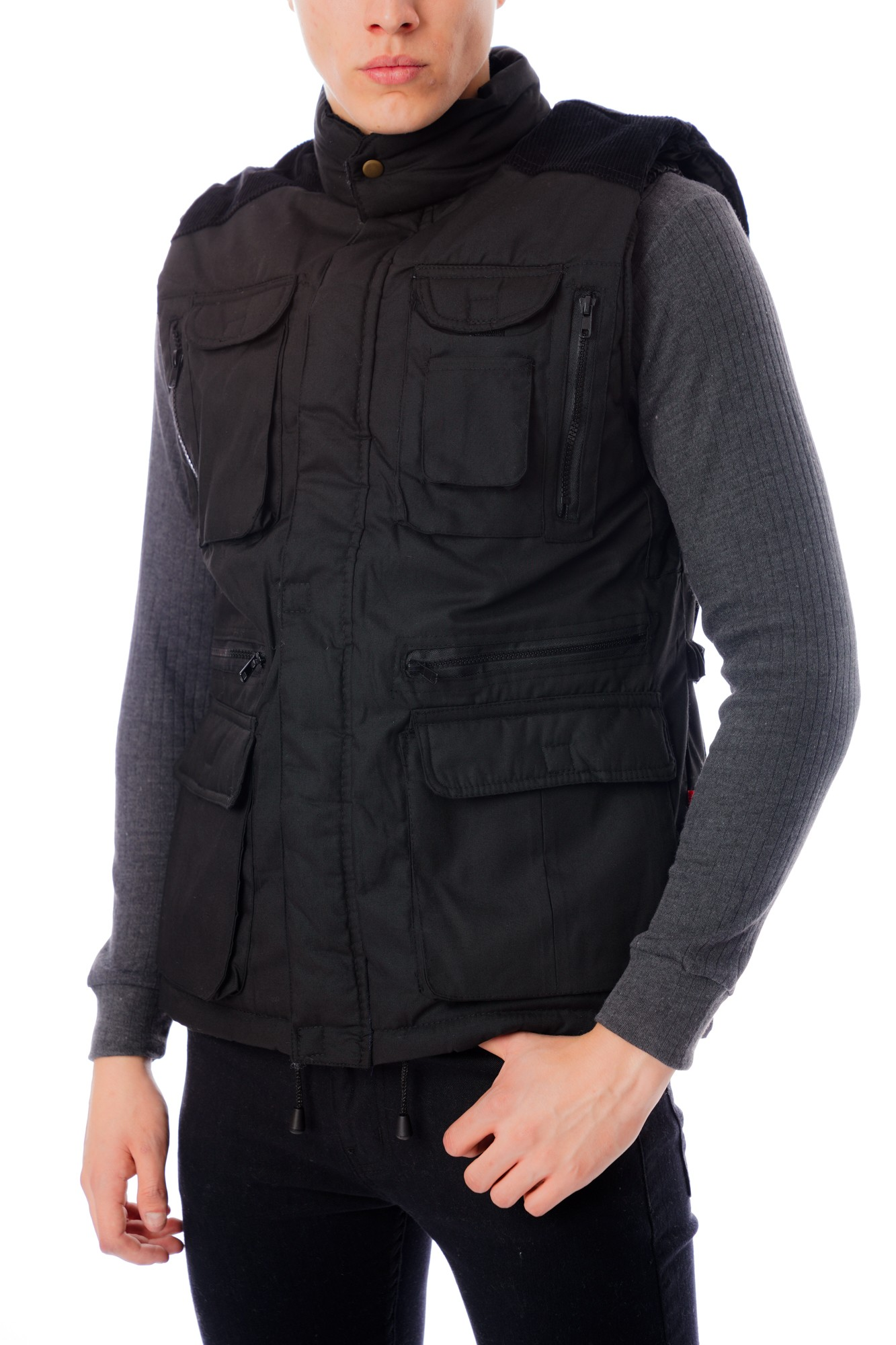Cord Trim Body warmer